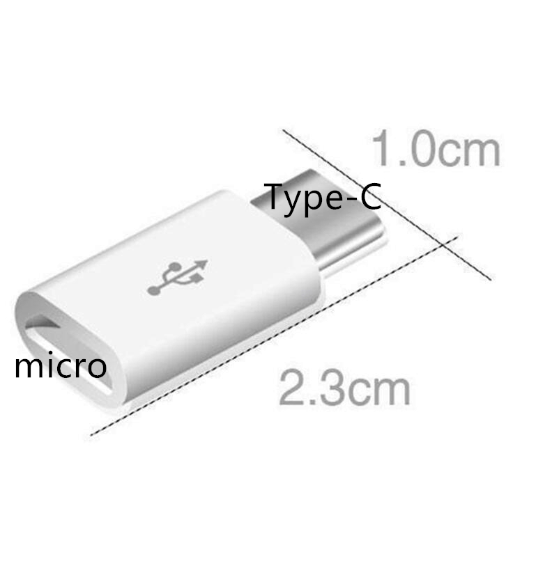 EastVita 5 Pcs Micro USB 3 1 to Type C Data Adapter Converter Female USB to Type c Male Converter For Xiaomi Samsung Huawei r19 in Phone Adapters Converters from Cellphones Telecommunications