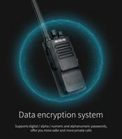 ווקי טוקי 2pcs צריכת חשמל גבוהה DMR רדיו דיגיטלי IP67 Waterproof מכשיר הקשר Retevis RT50 תצוגה UHF VOX Portable 2 Way רדיו ווקי טוקי (3)