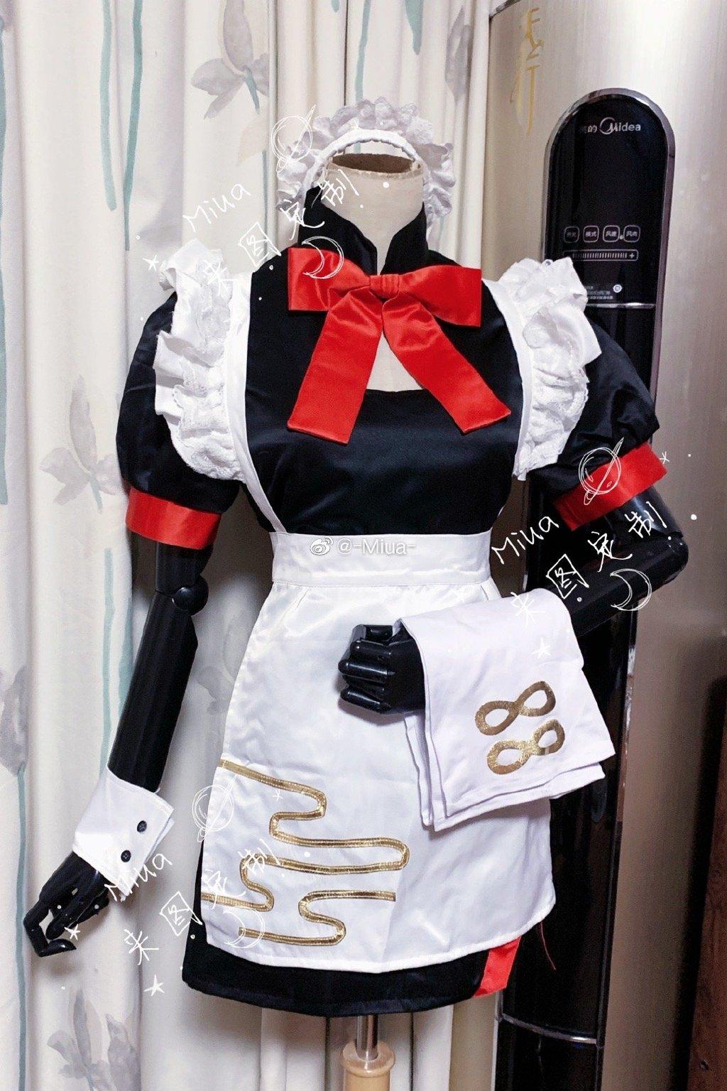 cosplay empregada vestido cosplay traje pode traje feito