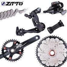 ZTTO 10 скоростной велосипед MTB кассета переключения заднего переключателя горный велосипед 1X10 Groupset один коленчатый набор системы цепь группа...
