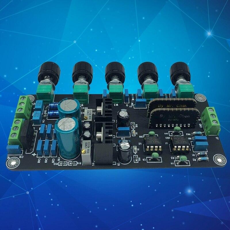 Preamp tone board upc4570c op amplificador estéreo