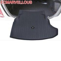 Coche samochód stylizacji samochodów stylizacji Protector Maletero mata do bagażnika dla Mercedes Benz A B C CLA CLS E E180L GLC GLK S klasy -