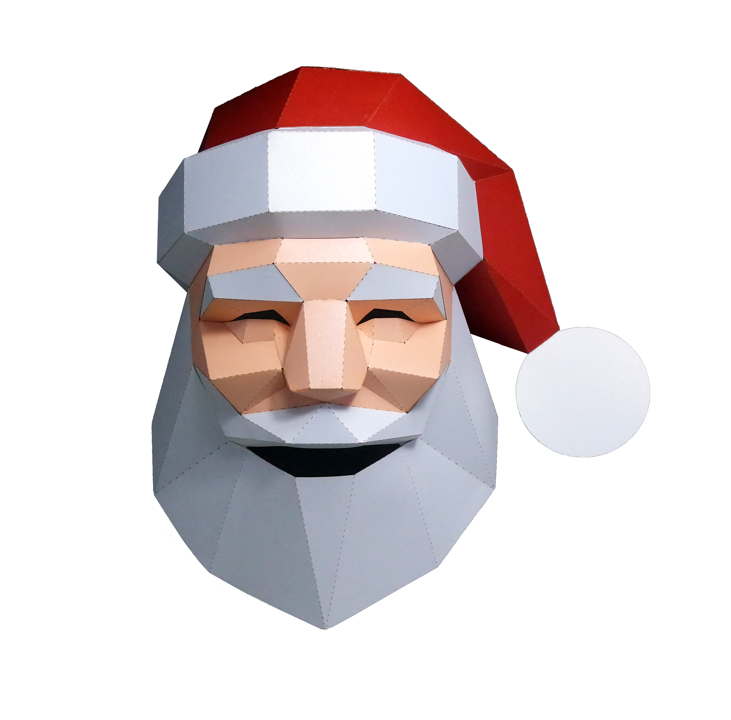 3d Paper Mask Fashion Santa Claus Costume Cosplay Diy Paper Craft Model Mask Christmas Halloween Prom Party Gift Card Model Building Sets Aliexpress
