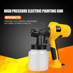 Image 2 - 220V 400W High Pressure Suction Type DIY Spray Paint Tool Airbrush Spray Gun Applicable to Furniture Machinery and DIY