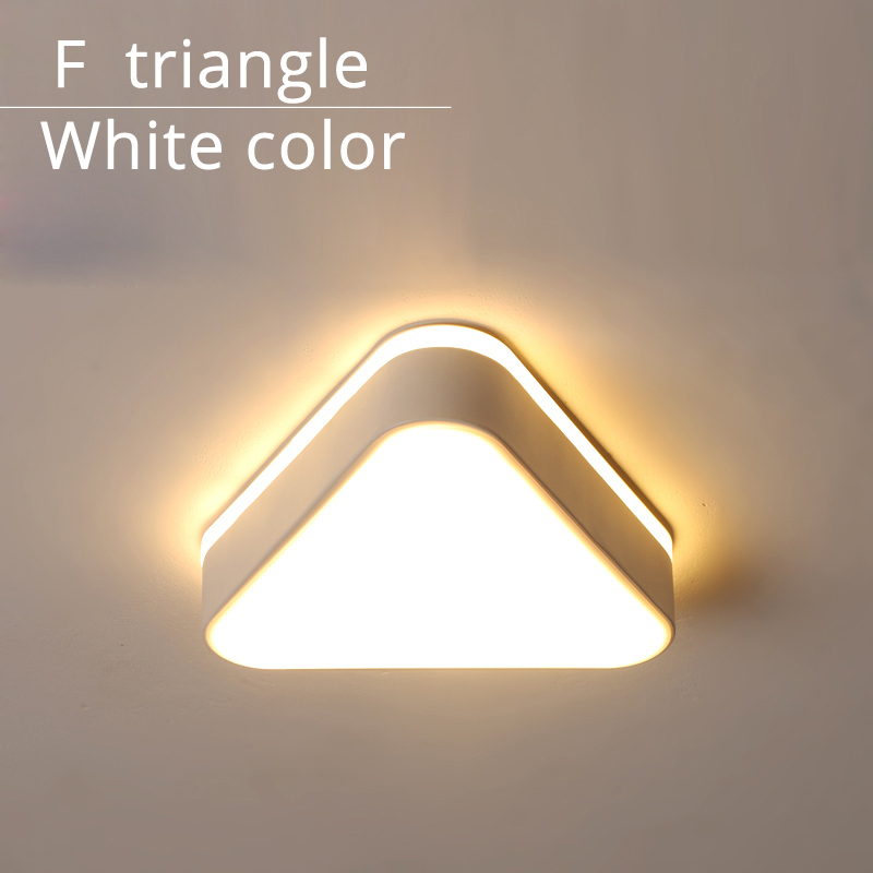 F triangle white