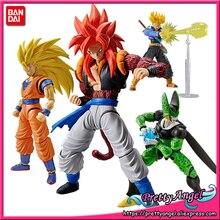 Echte Bandai Geesten Figuur Rise Standaard Montage Dragon Ball Super Broly Super Saiyan God Gogeta Vegetto Goku Action Figure