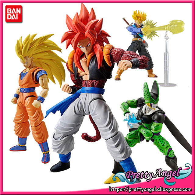 Genuine BANDAI SPIRITS Figure rise Standard Assembly Dragon Ball Super Broly Super Saiyan God Gogeta Vegetto Goku Action Figure