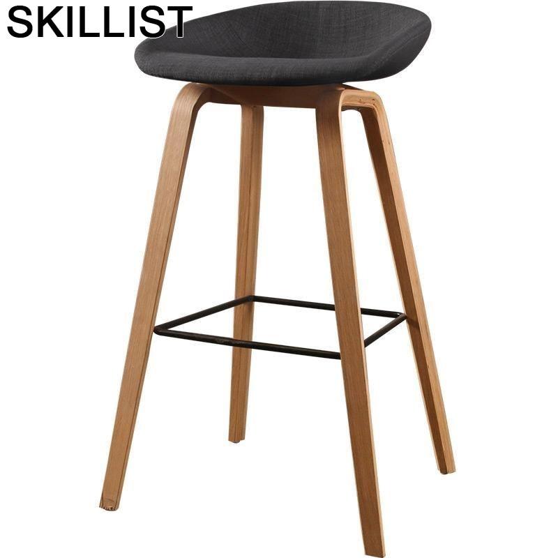 Barkrukken La Banqueta Sgabello Barstool Cadeira Stoelen Taburete Para Barra Silla Tabouret De Moderne Stool Modern Bar Chair