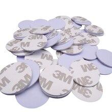 (100 sztuk/partia) TK4100 (EM4100) nowy Dellon RFID 125khz 3M naklejki monety 25mm tagi inteligentne tylko do odczytu karty kontroli dostępu