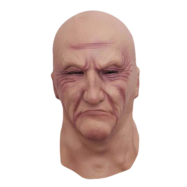 Realistic Latex Old Man Mask Disguise Honor Halloween Mask Adult Party Masks Masquerade Cosplay Scary Mascaras Halloween 2