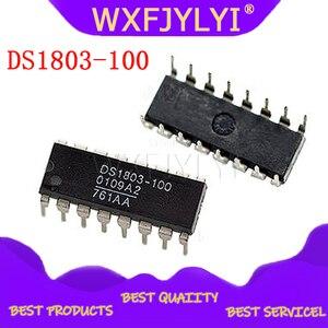 5 шт./лот, двойной адресуемый цифровой потенциометр DS1803, Подлинная гарантия качества DIP-16