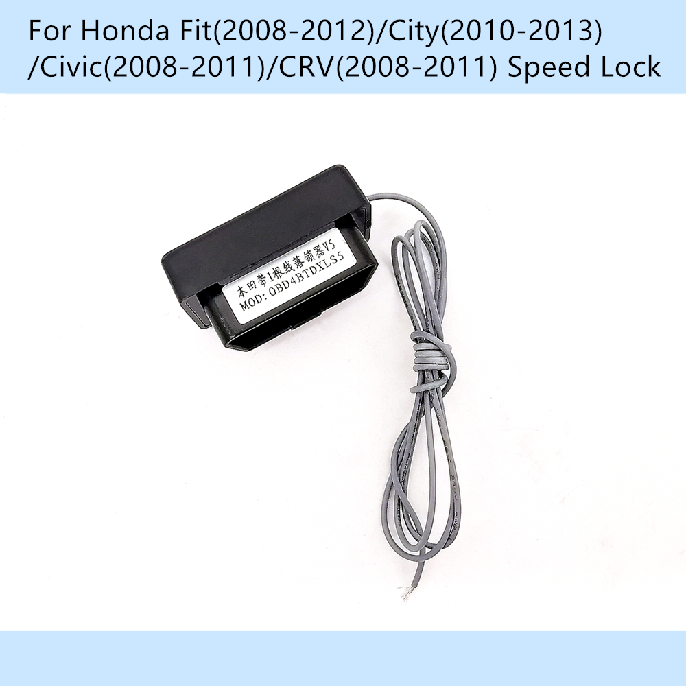 Car OBD 10km/h Speed Lock Unlock Gear Lock For Honda CRV/Civic 2008-2011 Fit 2008-2012/City 2010-2013
