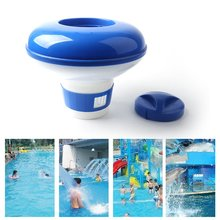 Chlorine Chemical Tablet Floating Dispenser Bromine Holder Automatic Pool for Swimming Spa