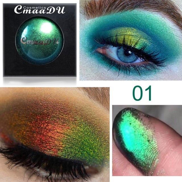 4-color eye shadow waterproof long-lasting light color eye shadow glitter eye makeup glitter eye shadow palette 2