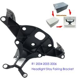 2004-2006 r1 motocicleta de alumínio superior carenagem titular farol dianteiro ficar bracket para yamaha r1 2004 2005 2006 YZF-R1
