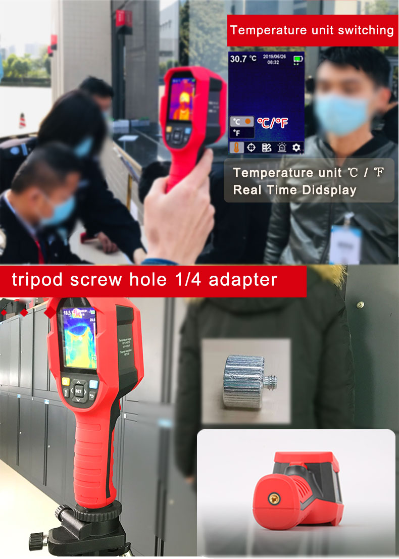 Mini Infrared Thermal Imaging Camera With Type-C USB Interface for Lithium Battery Charging 29