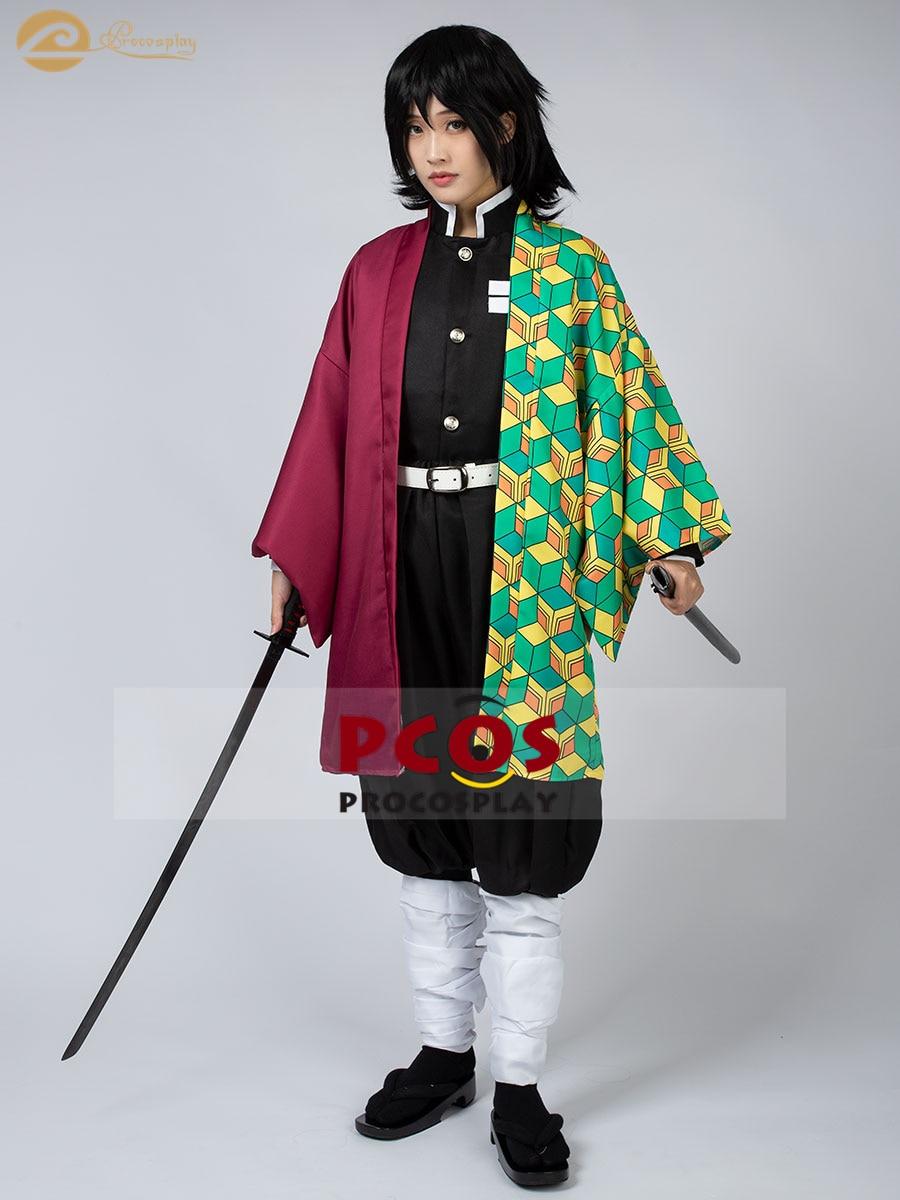 ProCosplay In stock Demon Slayer: Kimetsu no Yaiba Tomioka Giyuu outfit cosplay costume for women mp005109