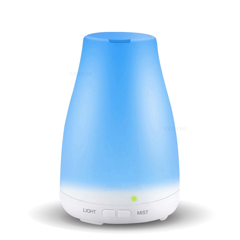120ml Aroma Essential Oil Cool Mist Humidifier, Essential Oil Diffuser, With 7 Color LED Lights Changing For Home Office Baby