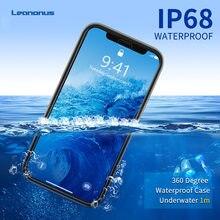 Caso subaquático para o iphone se 2020 caso à prova de choque mergulho caso à prova dshockproof água para o iphone se 2 s e 2020 11 pro max capa do telefone escudo