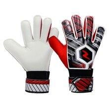 Профессиональные Детские Молодежные взрослые футбольные Вратарские латексные противоскользящие перчатки защитные утолщенные латексные футбольные вратарские перчатки