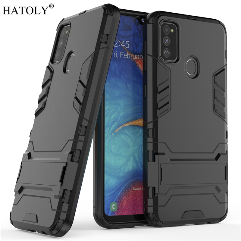 For Samsung Galaxy M30S Case Robot Armor Shell Hard PC TPU Phone Cover for Galaxy M30S Protective Case for Samsung Galaxy M30S image