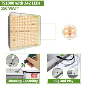 Mars Hydro TS 600W 1000W 2000W 3000W LED Grow Light Indoor Plants Veg Flower Replace HPS/HID Hydroponics Full Spectrum