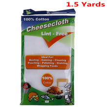 Cooking-Tools Cheese-Cloth Muslin Bleached Gauze-Fabric Kitchen White Yard Width