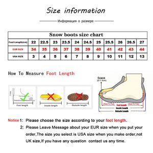 Image 5 - MBR FORCE Australia Women  Snow Boots 100% Genuine Cowhide Leather Ankle Boots Warm Winter Boots Woman shoes large size 34 44