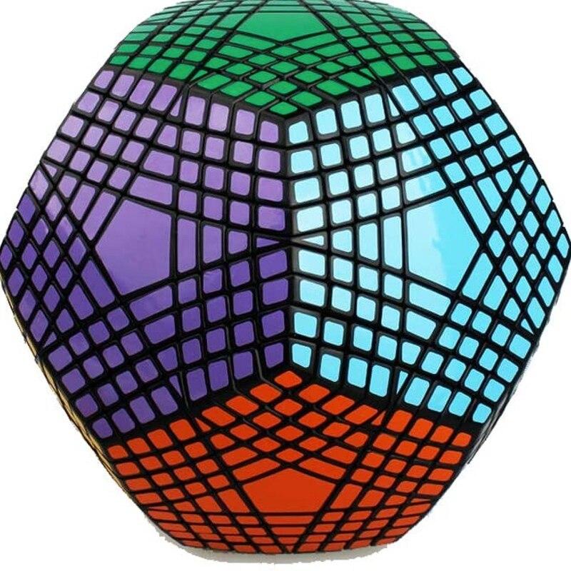 Collection MF8 Petaminx puzzle de Cube magique collée recueilli dodécaèdre 9x9 vitesse puzzle magique collection megaminxsed cube - 6