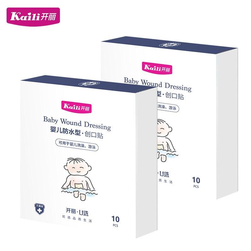 Newborns Umbilical Paste Baby-Shape Infant Waterproof Guangdong Province Bath Unisex Nursing Adhesive Bandage Stomach Stickers 1