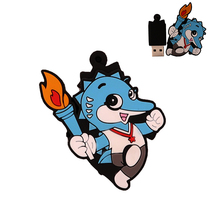 Pen drive 32gb real capacity pendrive 64GB memory stick u disk flash 4G 8G 16G 128G cartoon animal creativ gift cle usb2.0