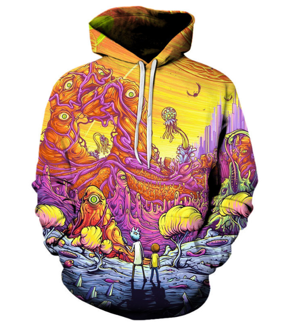 Autumn 3d Print Hoodie Stylish Hoodies Unisex color: A