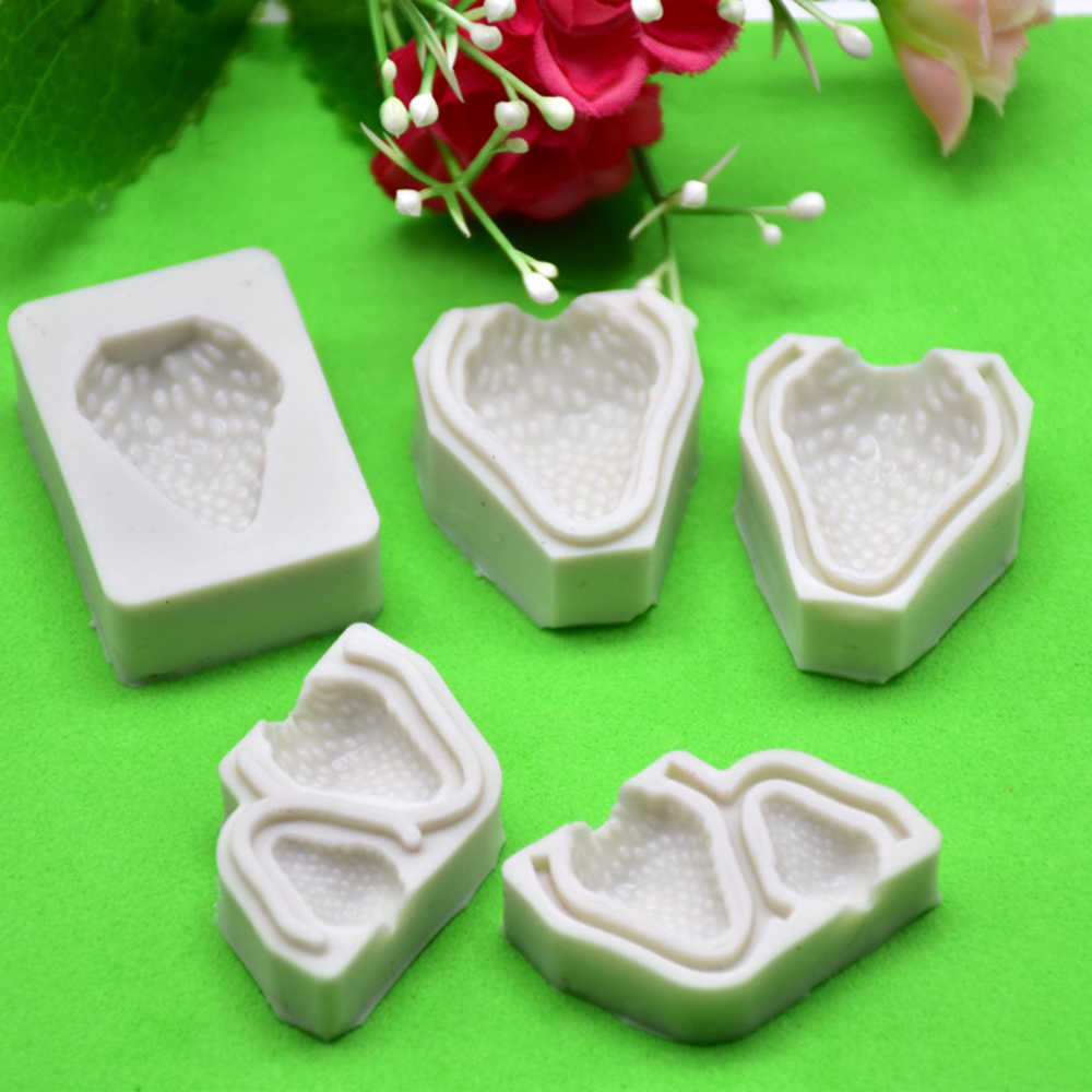3D DIY Cake Silicone Mold Candy Chocolate Wedding Party Bakeware Tools