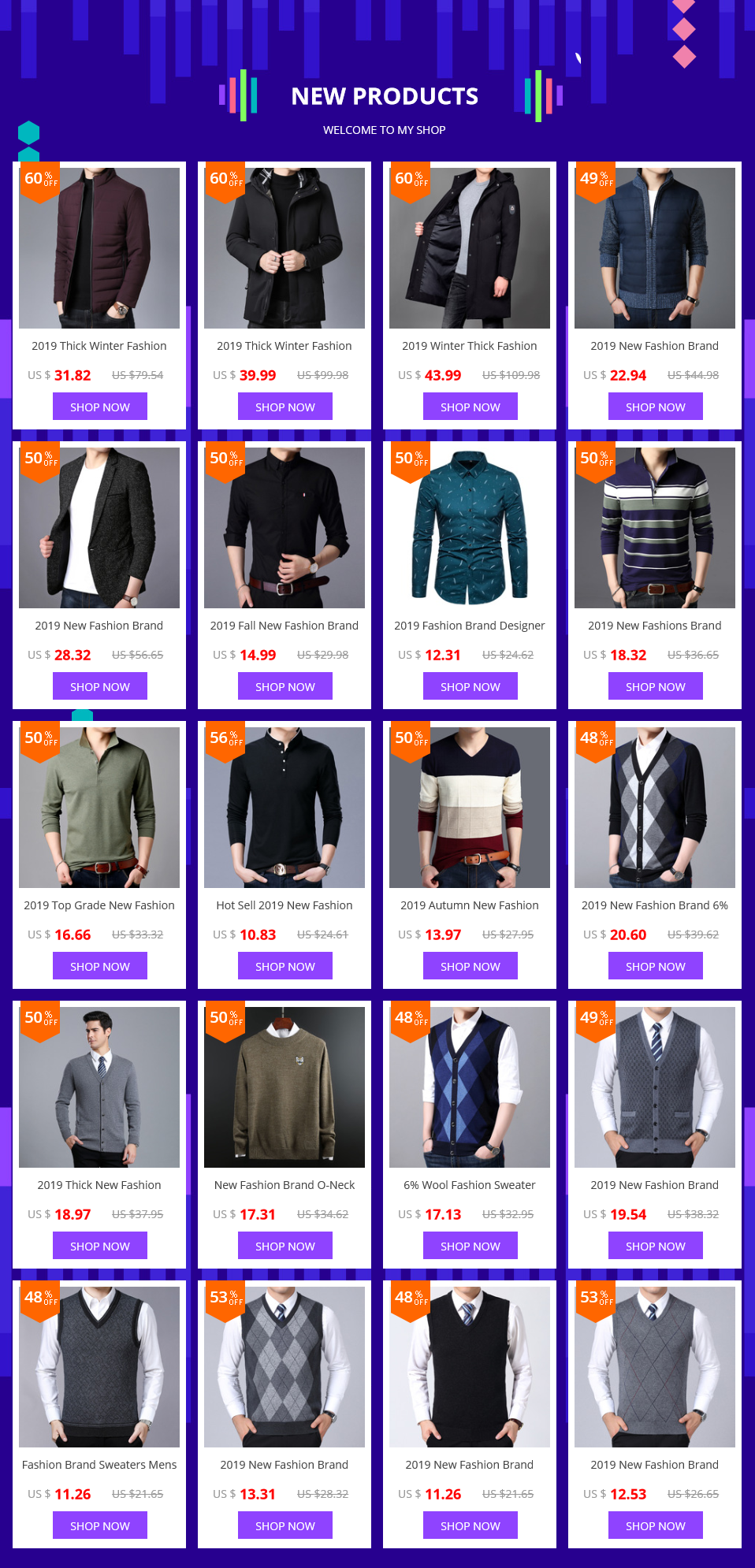 2019 Autumn New Fashion Brand Sweater Man Pullovers Striped Slim Fit Jumpers Knitwear Woolen Korean Style Casual Men Clothes 50