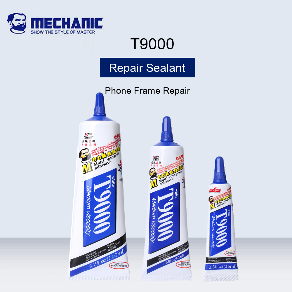 MECHANIC <font><b>T9000</b></font> Screen Repair White <font><b>Glue</b></font> Environmental Protection Universal <font><b>Glue</b></font> For Phone Frame Repair Handmade Jewelry Adhesive image