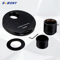 SvBony 2 inch 5 Position Multiple Filter Wheel Filter Revolver for Telescope to CCD Camera w/ M48 to 2 T Adapter W9103B