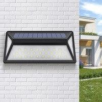 113LED Solar Licht Drei-seitige Leucht Hof Wasserdicht Induktion Solar Wand Licht