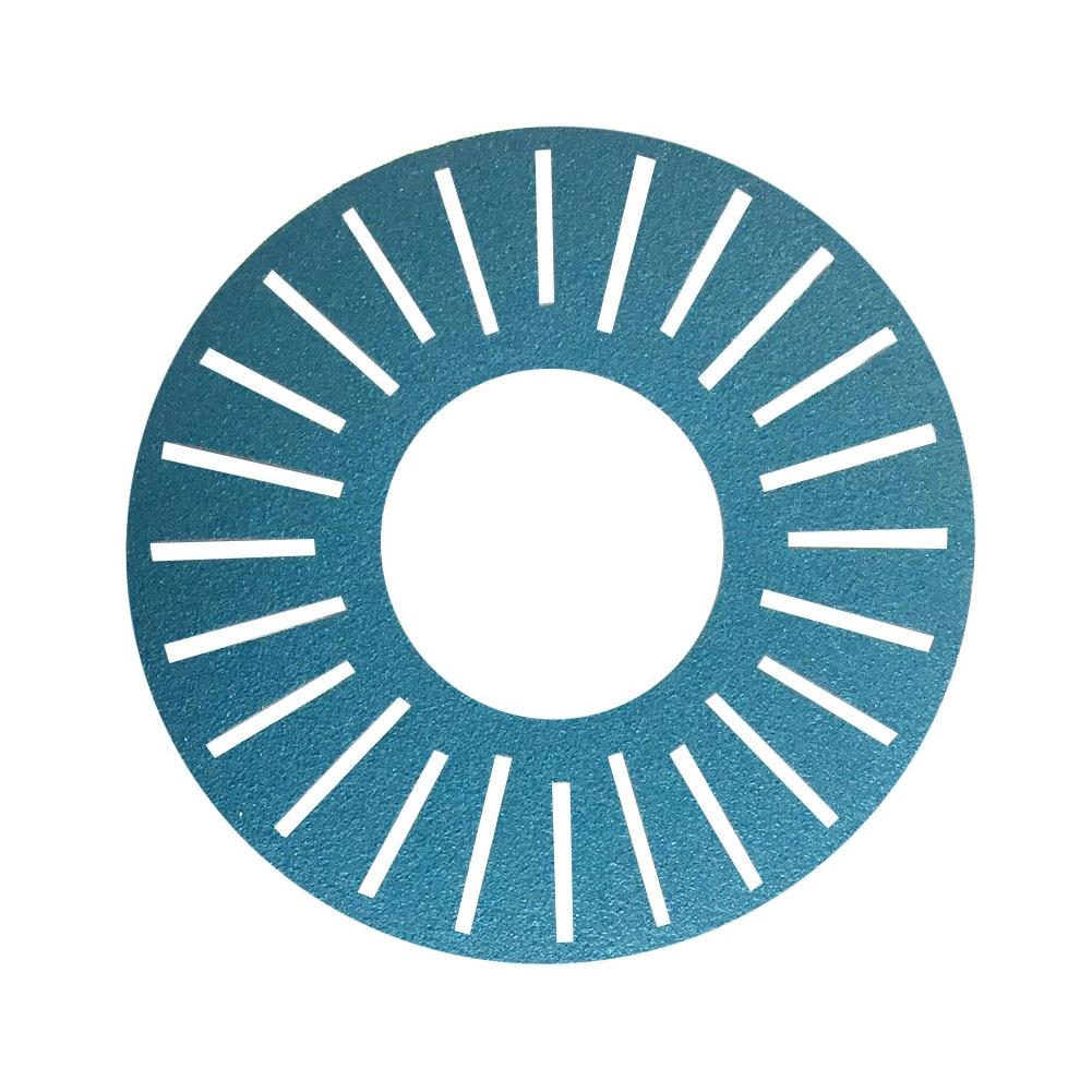 5pcs Slotted Abrasive Kits 25 Holes Sandpaper Disc Sanding Paper Durable DIY Grinding Adhesive Blue For Work Sharp WSSA0002002