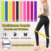 Faixas de resistência de fitness bandas de borracha para faixas de resistência de fitness elástico para esporte musculação faixa de resistência de fitness esporte