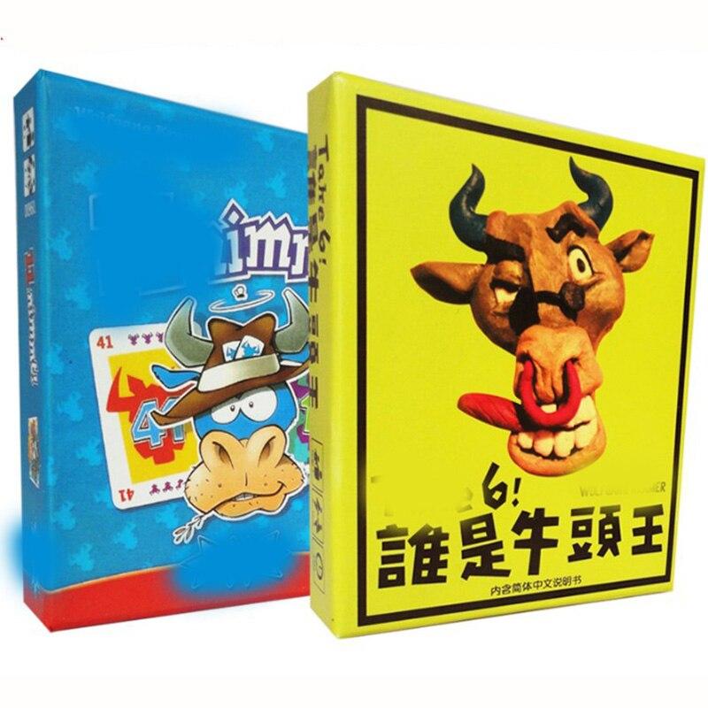 6 Nimmt! Tome 6 jogo de tabuleiro 2-10 jogadores para jogar família/festa/amigos melhor presente para crianças clássico jogo de cartas