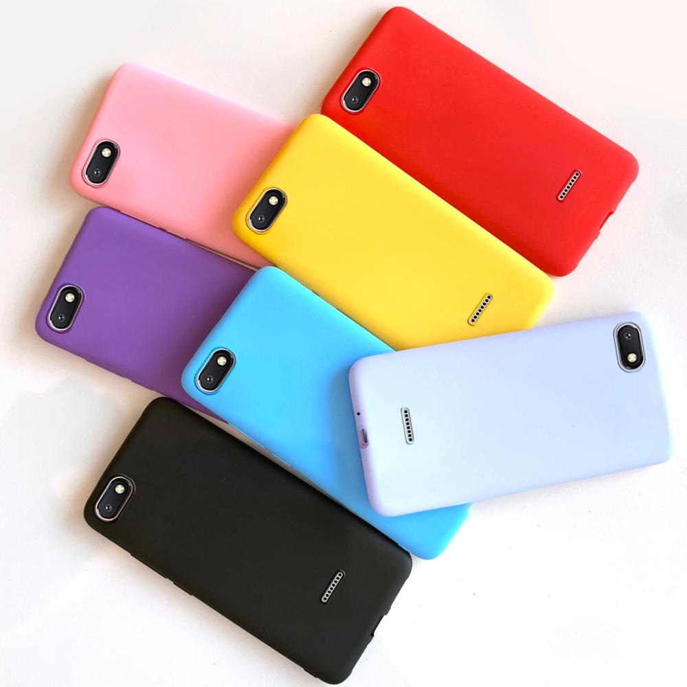 for <font><b>Xiaomi</b></font> <font><b>redmi</b></font> <font><b>6a</b></font> a6 case cover soft matte tpu silicon case on for phone capas redmi6a <font><b>Xiaomi</b></font> <font><b>redmi</b></font> <font><b>6a</b></font> cases cover funda coque image