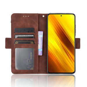 Image 5 - ل Xiaomi بوكو X3 برو فليب حالة بوكو F3 F 3 X 3X NFC جلدية بطاقة فتحة القابلة للإزالة محفظة غطاء فوندا بوكو F2 حالة PocoPhone M3
