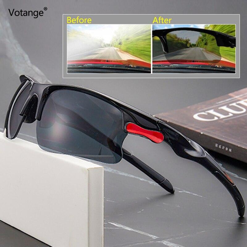 Night-Vision Glasses Anti Glare Protective Gears Sunglasses Night Vision Driving Goggles  Glasses Interior Accessories E116