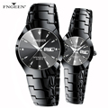 Люксовый бренд FNGEEN женские часы мужские часы модные Стальные наручные часы подарок для пары часы для влюбленных Relogio Feminino 2020
