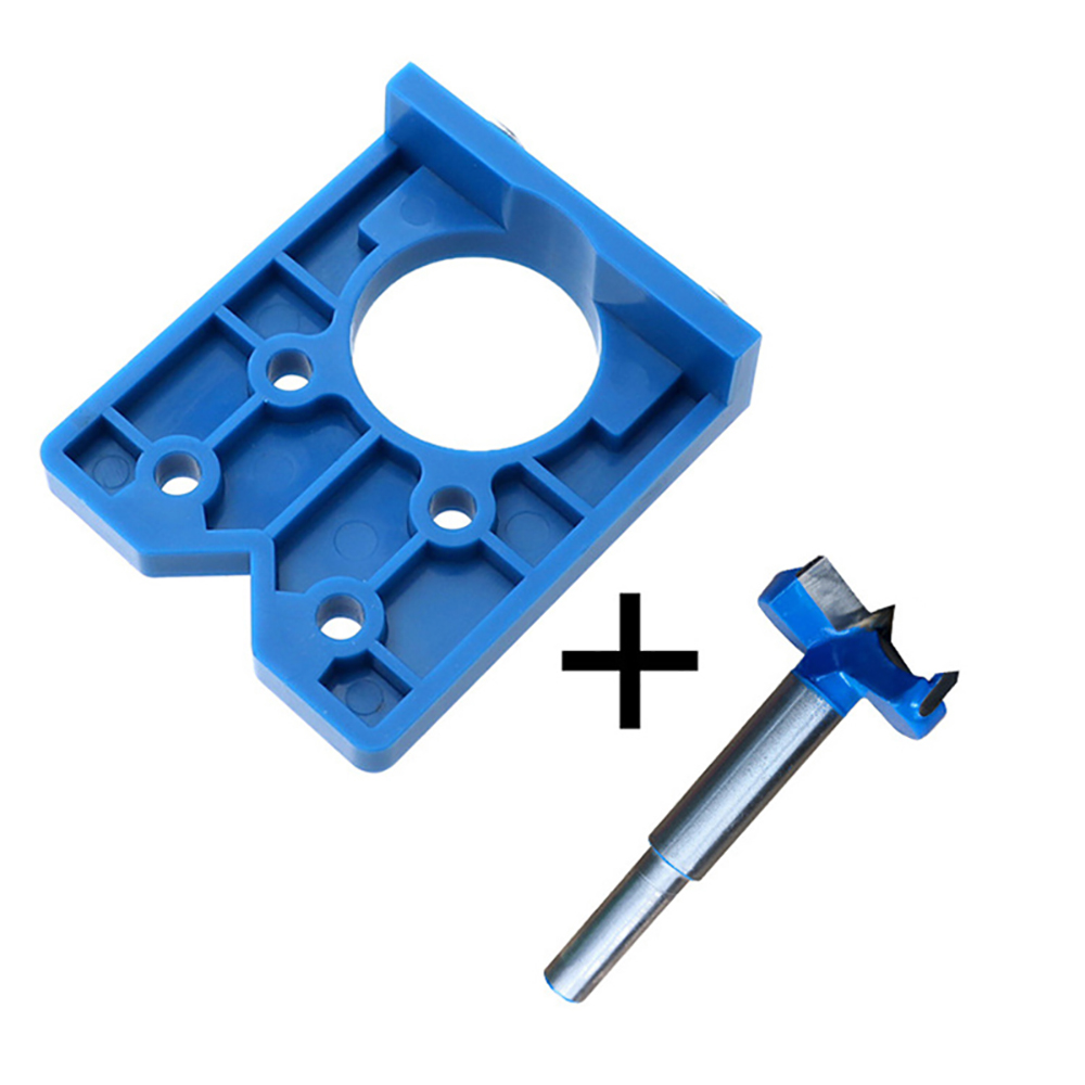 Hinged Holes Locator Door Hinge Positioning Template 35mm Hole Opener Woodworking Hinge Punching Installation Aid