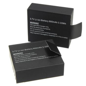 1pc/2pcs 3.7V 900mAh Li-ion Battery For SJCAM SJ4000 SJ5000 SJ6000 SJ7000 Action Camera Mini DV Cam Replacement Backup Battery 3 7v 900mah rechargeable camera battery with dual battery charger for sjcam sj4000 sj5000 sj6000 for action camera battery