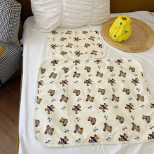 MILANCEL 2021 Summer New Kids Mattress Cartoon Litttle Bear Cotton Cute Mattresses