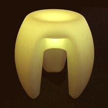 Magic LED lighting furniture| indoor waterproof LED cube chair| 40x40x40cm| bar stool| wedding decoration| coffee bar|