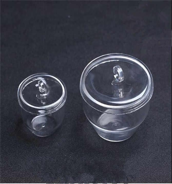 interior redondo resistente a los impactos para fundir oro plata crisol de cuarzo resistente a los /ácidos Crisol de fusi/ón de cuarzo