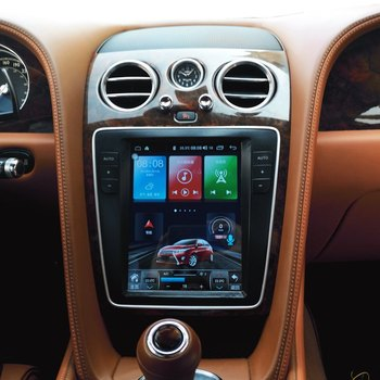 "9.7 ""Tesla Android multimédia autoradio Audio Sat Nav gps pour Bentley volant éperon 2012 2013 2014 2015 2016 2017 2018 2019"